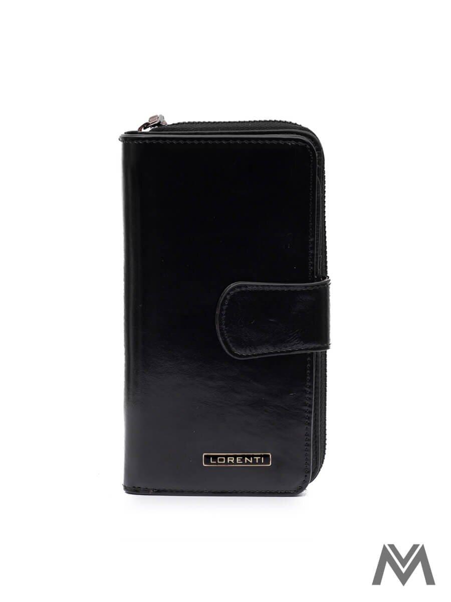 00da9019bb Dámska kožená peňaženka LORENTI 76116-NIC čierna
