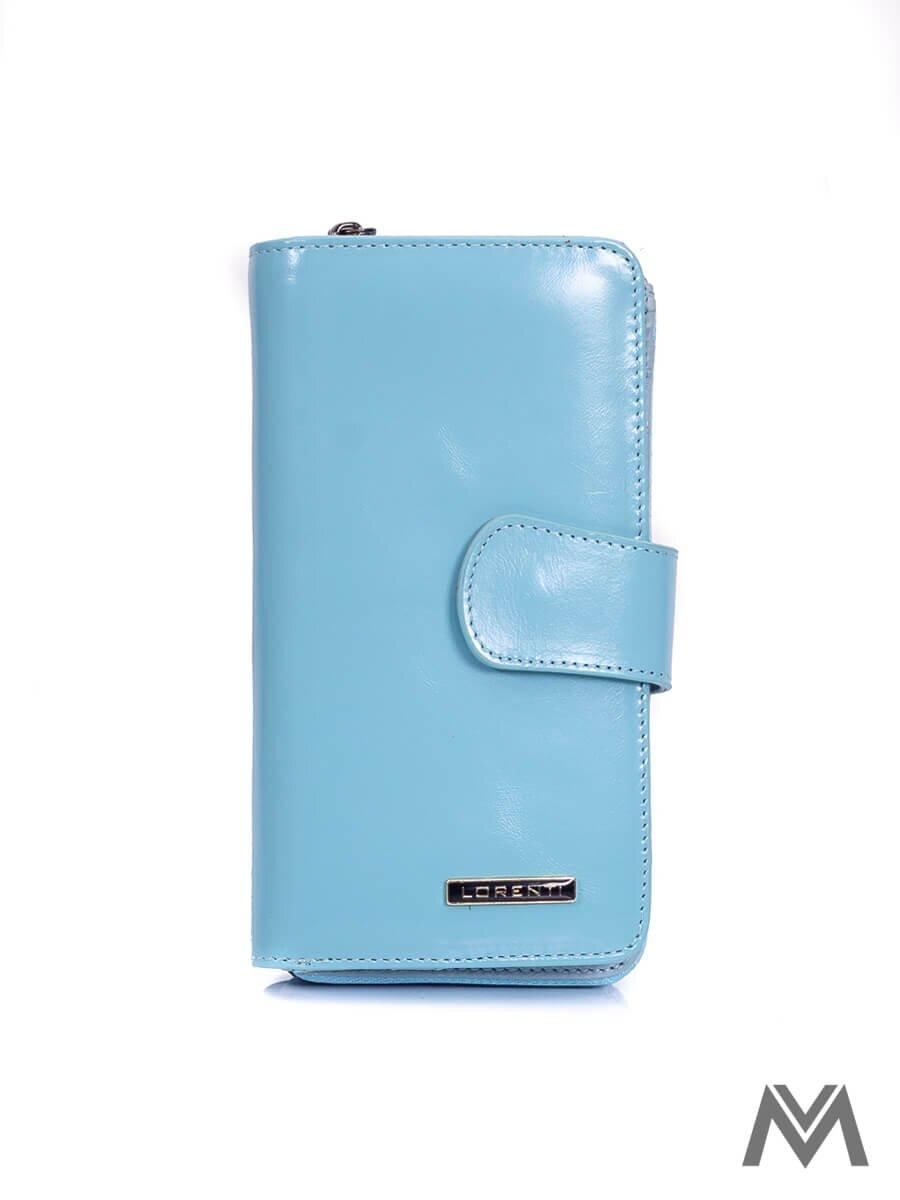 a334d2c0f3e2 Dámska kožená peňaženka LORENTI 76116-NIC modrá