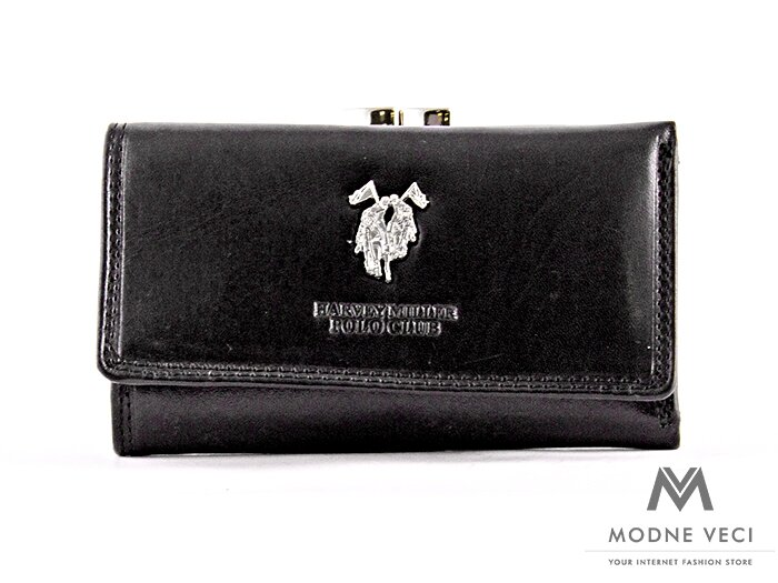 Klasická dámska peňaženka v čiernej farbe