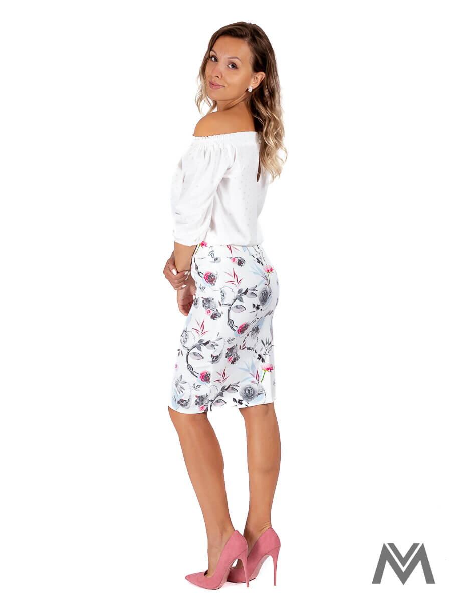 1ba2876c4984 Dámska puzdrová sukňa VS-SU-1849 ruže
