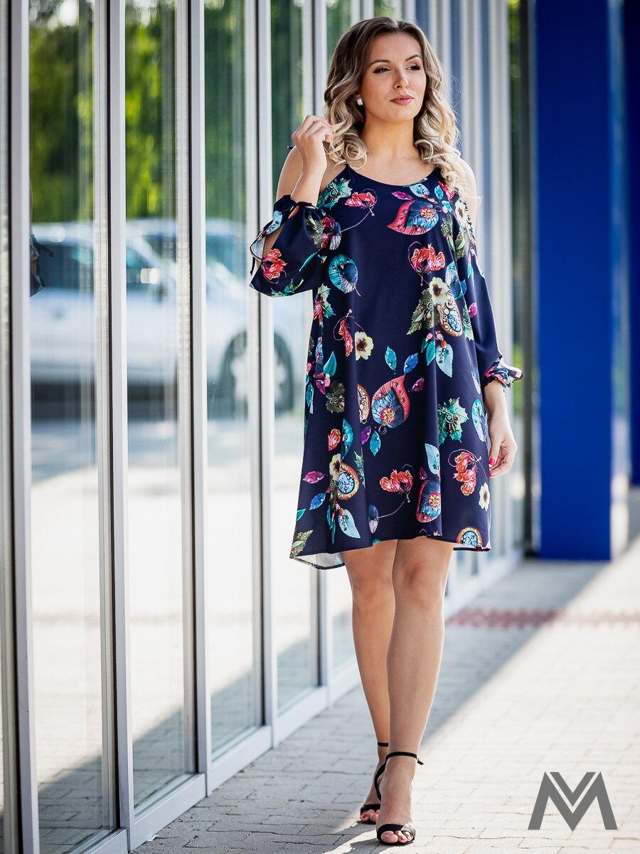 e8fa39ad7c Kvetované šaty na leto VS-SA 1866 oversize | ModneVeci.sk