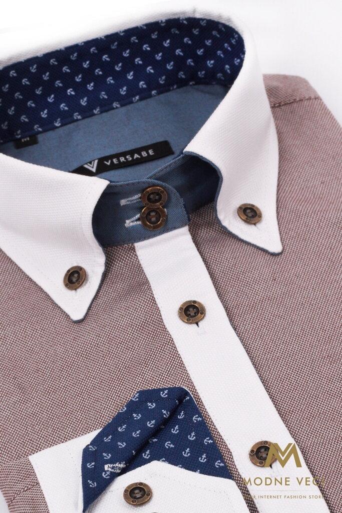 c85b8251f619 Zaujímavá dámska košeľa Slim Fit VS-DK1737 ...