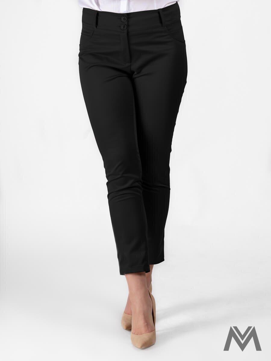 80616c0ce26d Elegantné dámske nohavice čierne VS-DN-1805
