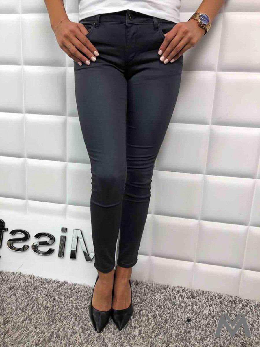 26154604d6fb Dámske SLIM jeans sivé L750-37