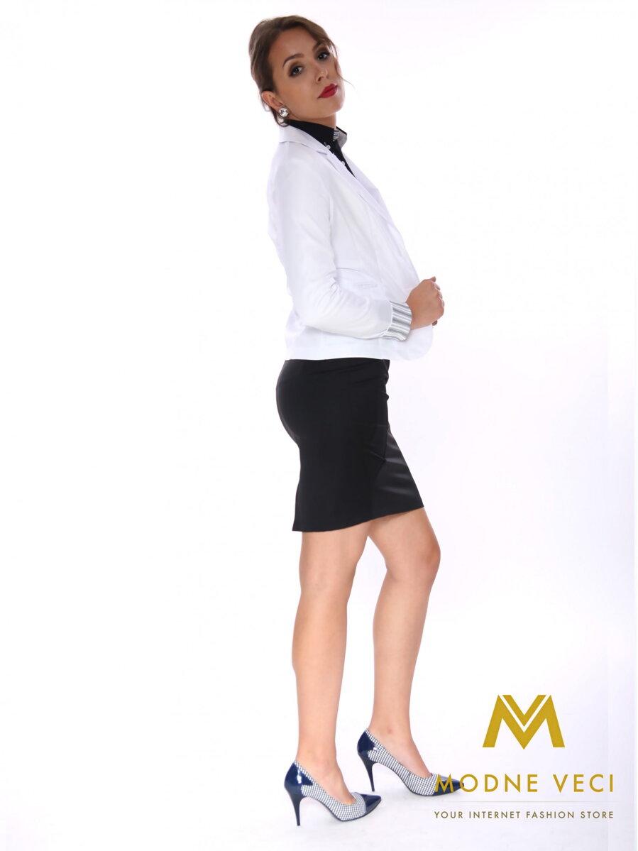 7dd8724f3623 Elegantné dámske sako biele ...