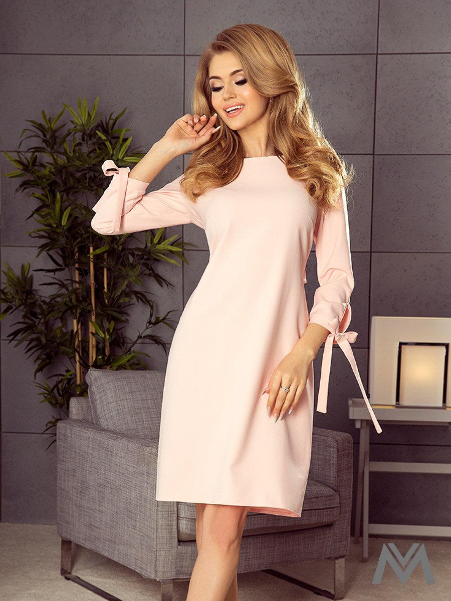 c7cae4a997 Elegantné dámske šaty Alice 195-2 broskyňové ...