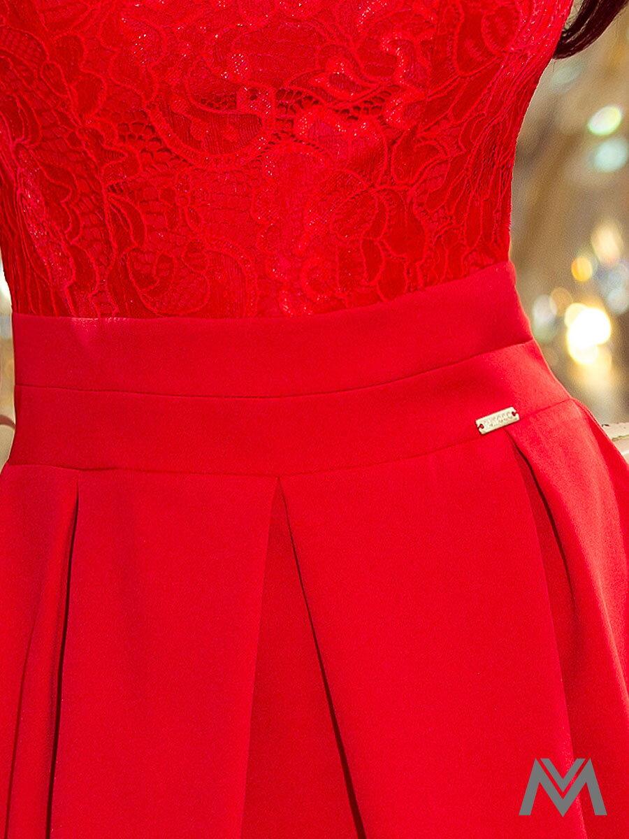 c6e9dd74a180 Dámske spoločenské šaty 208-2 červené ...