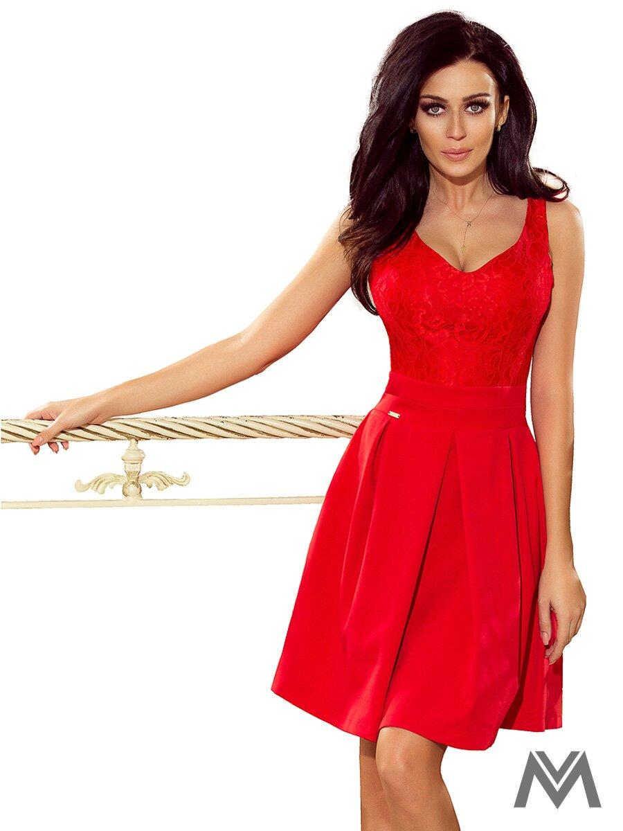 a4e35f69d844 Dámske spoločenské šaty 208-2 červené ...