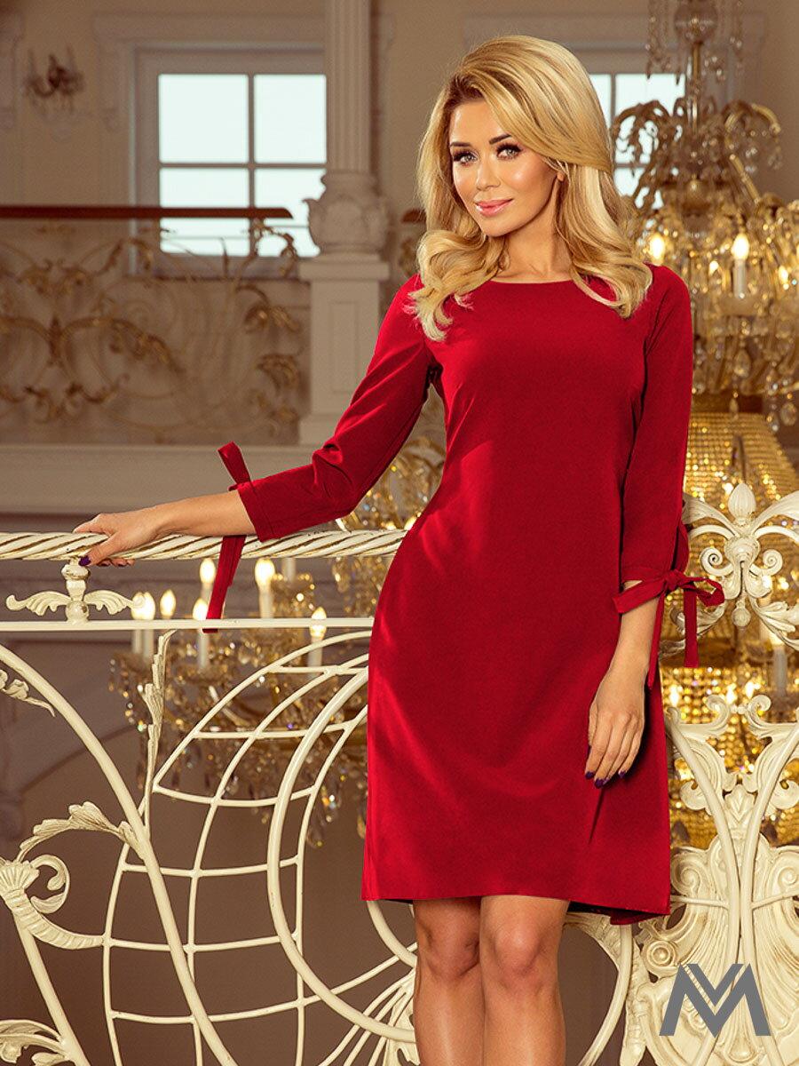 2879d47a1 Elegantné dámske šaty Alice 195-3 bordo | ModneVeci.sk