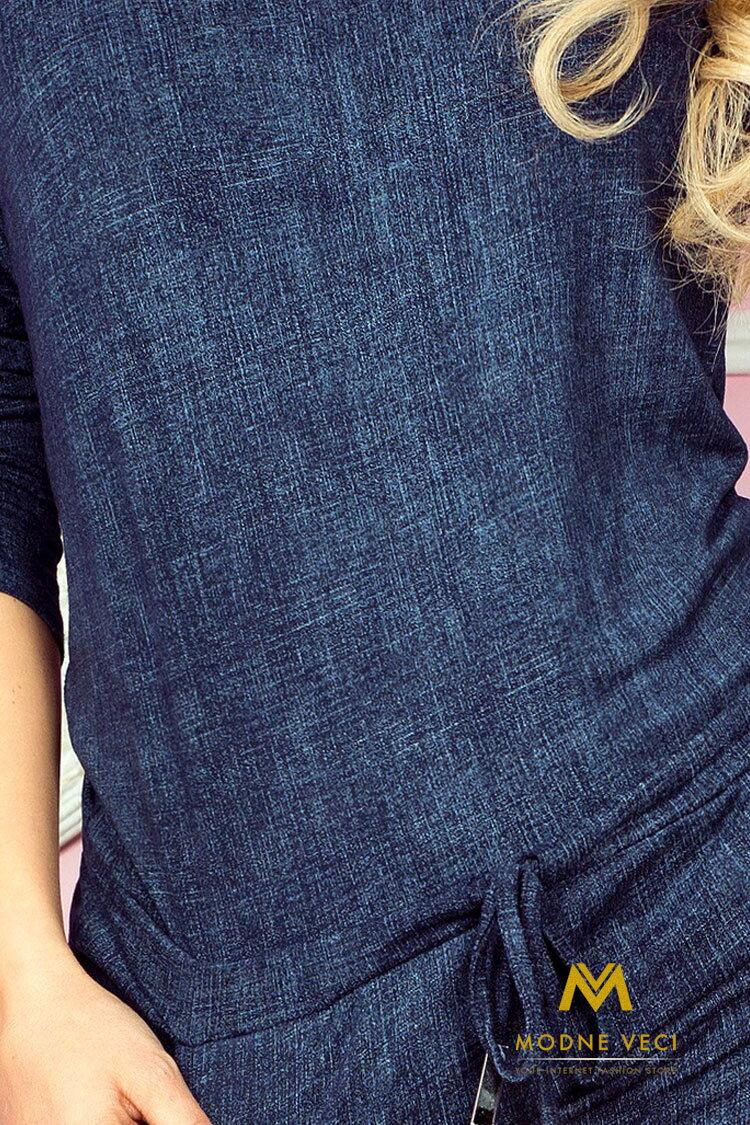 Elastické šaty v jeansovej farbe 13-19 e29a28ae9a
