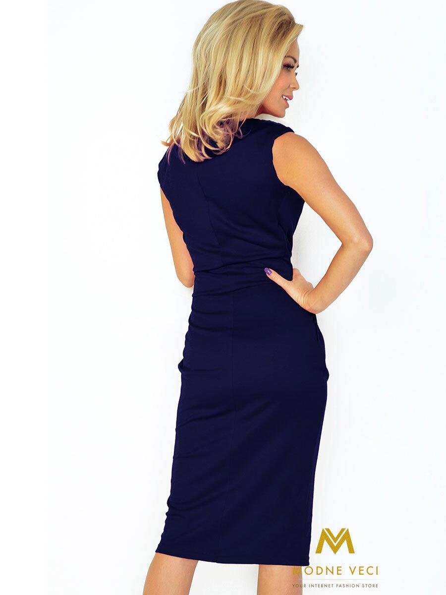 elegante-damen-kleid-144-4-dunkel-blau   ModischeSachen.de ca95d36c11