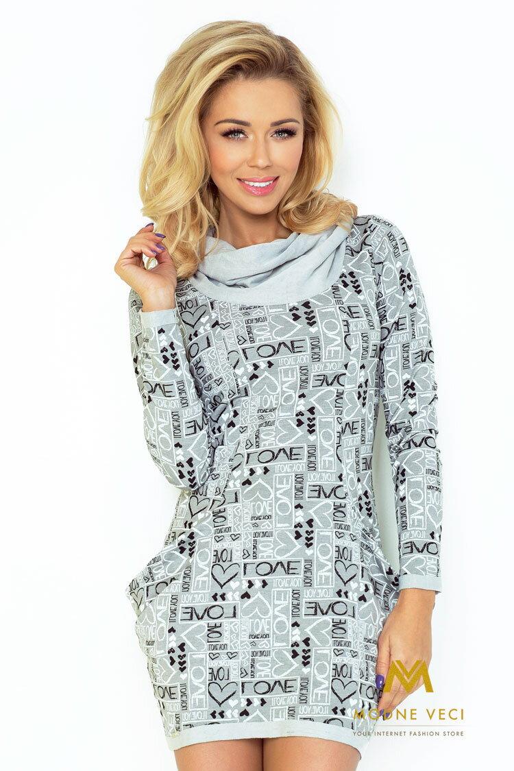 fb1fe42466d3 Trendové šaty s potlačou 135-1