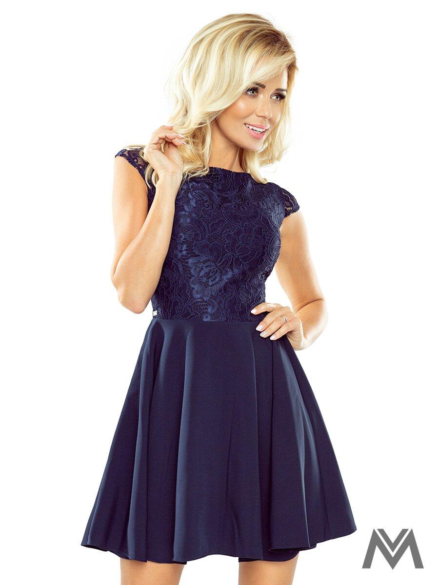 8460e67b6d68c Dámske spoločenské šaty Marta 157-1 tmavo modré| ModneVeci.sk