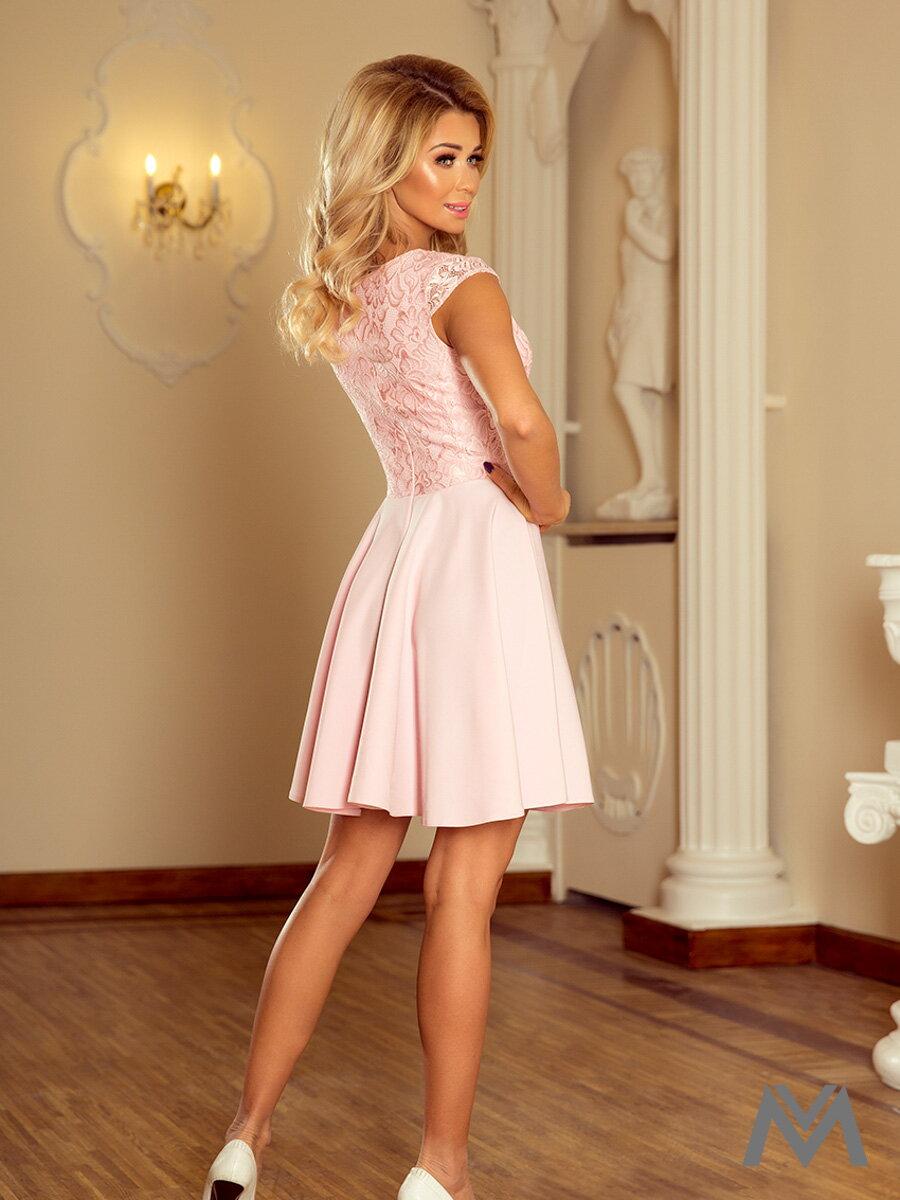 Dámske spoločenské šaty MARTA ružové 157-4 ... 4c6b4f1e1e0