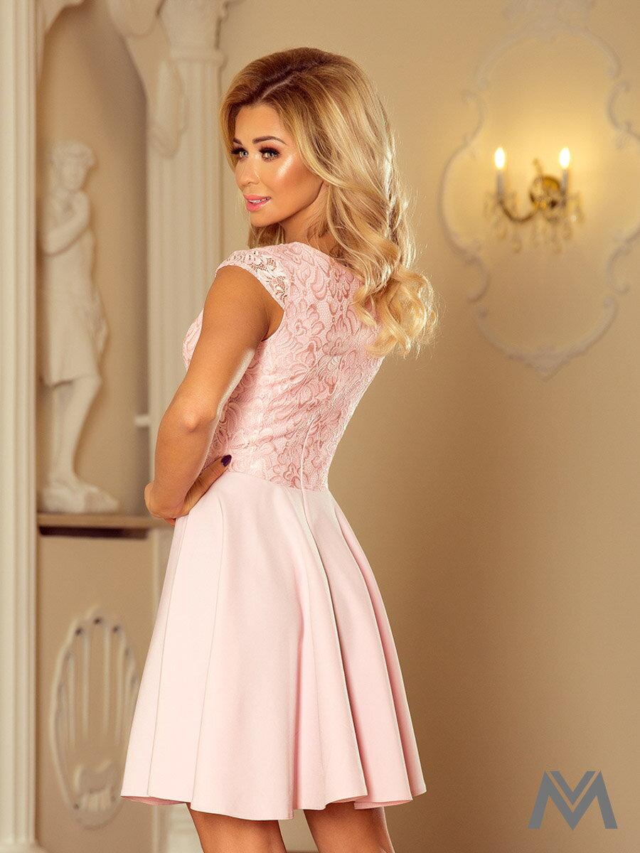 Dámske spoločenské šaty MARTA ružové 157-4 ... 5107927765