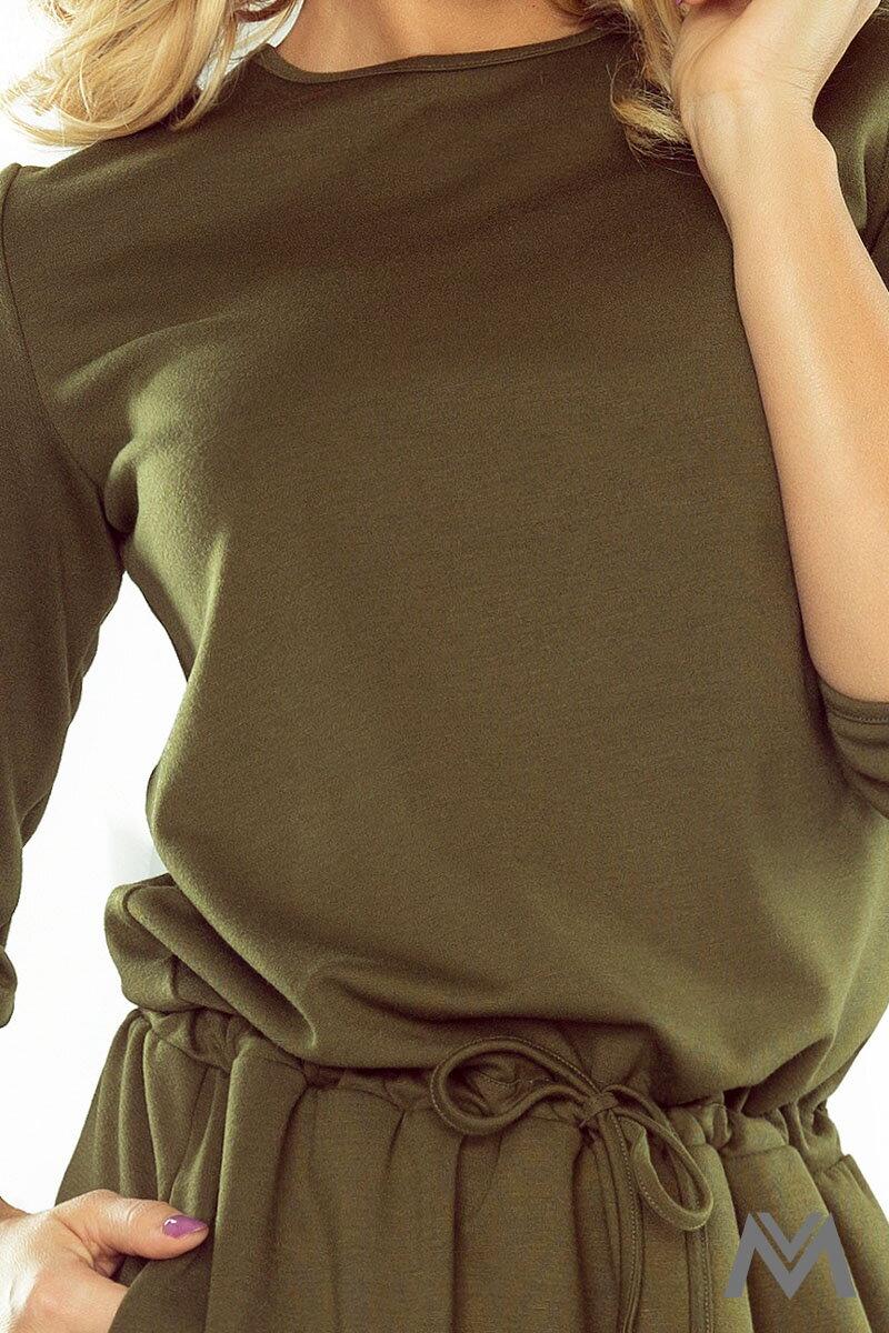 ce467c7c8605 Dámske športové šaty s väzbami na rukáve vo vojenskej farbe 176-2- military  štýl