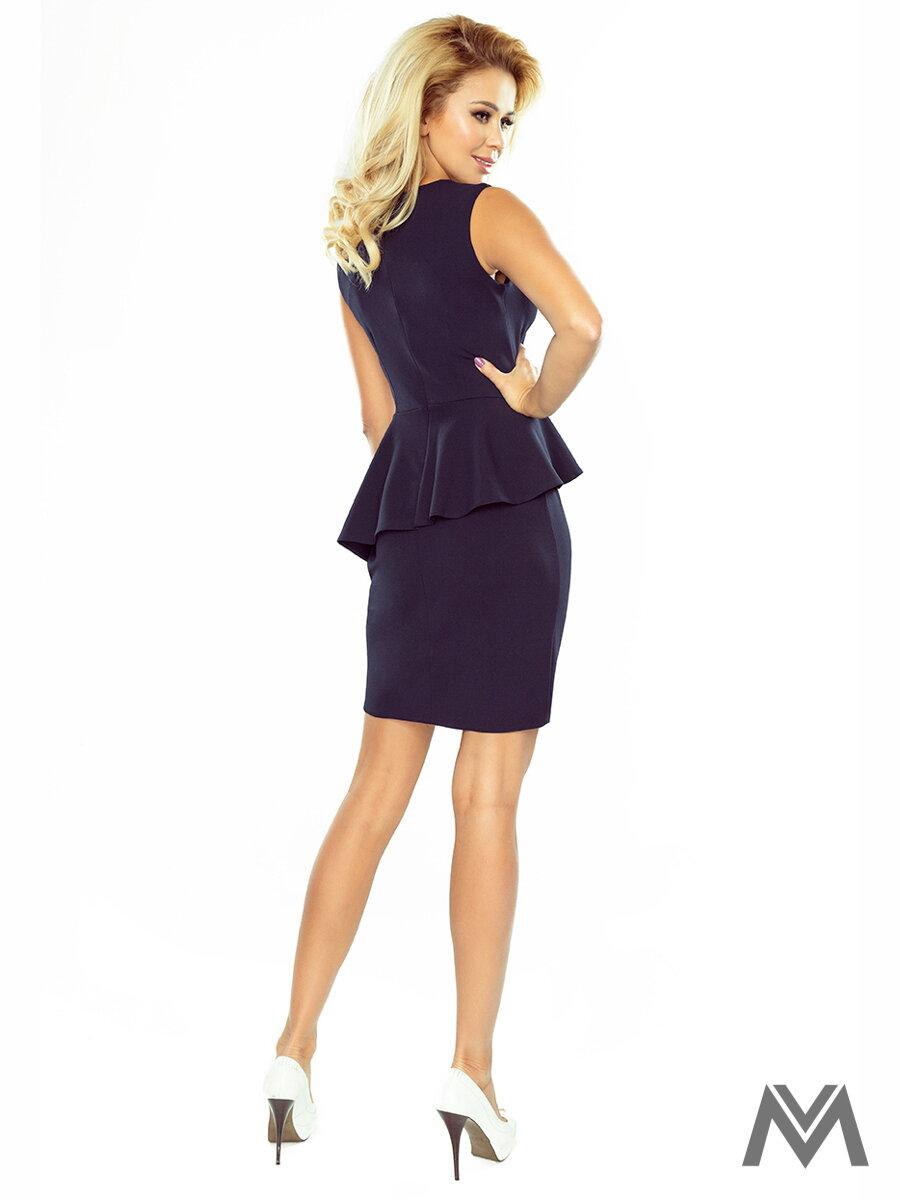 c271dab56bb1 Dámske biznis šaty- tmavomodré 178-2 ...