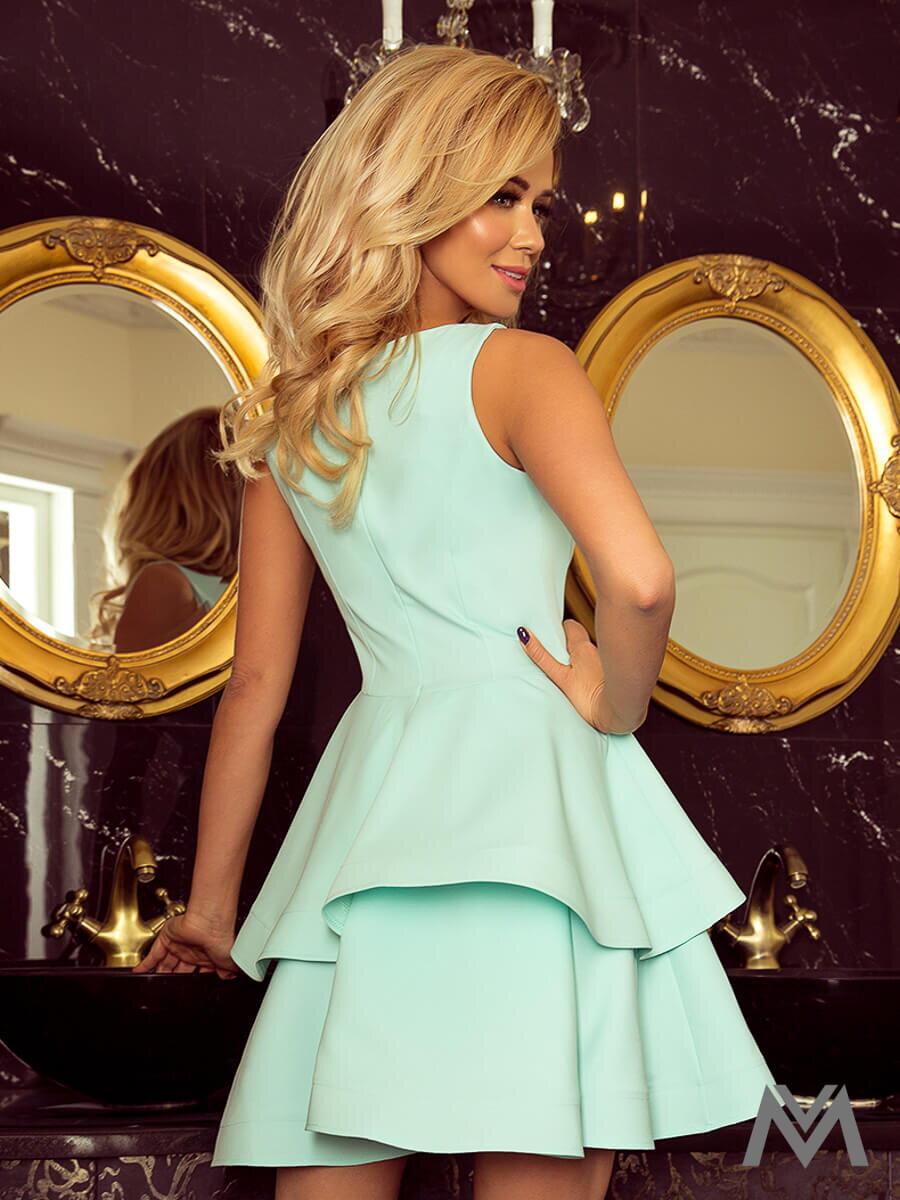 77887de35e8e Dámske šaty 169-4 v mentolovej farbe ...