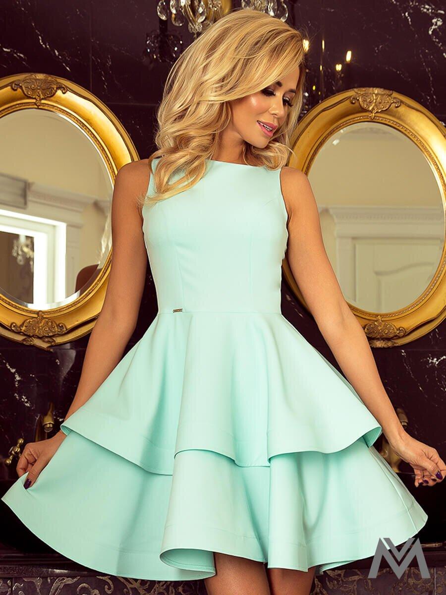 Dámske šaty 169-4 v mentolovej farbe  24c738cc1c4