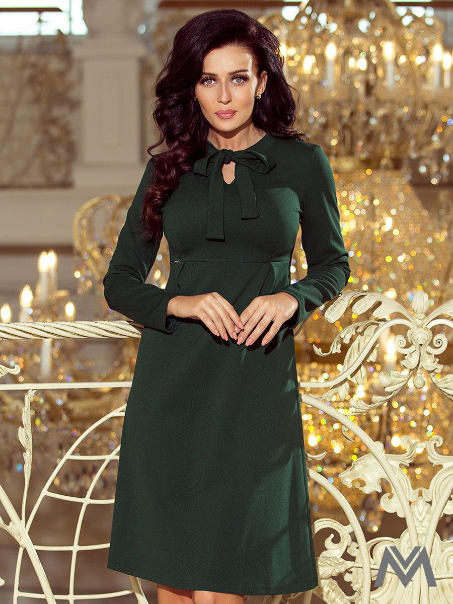 de2e226589a7 Elegantné dámske šaty 158-3 smaragdové