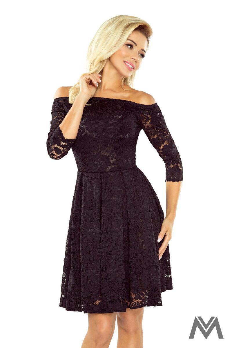 fbbc8cd78e50 Nádherné čipkované šaty s odhalenými ramenami 168-1