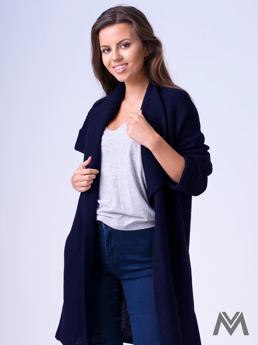 Dámsky sveter Dalia tmavo modrý  41131c7c461