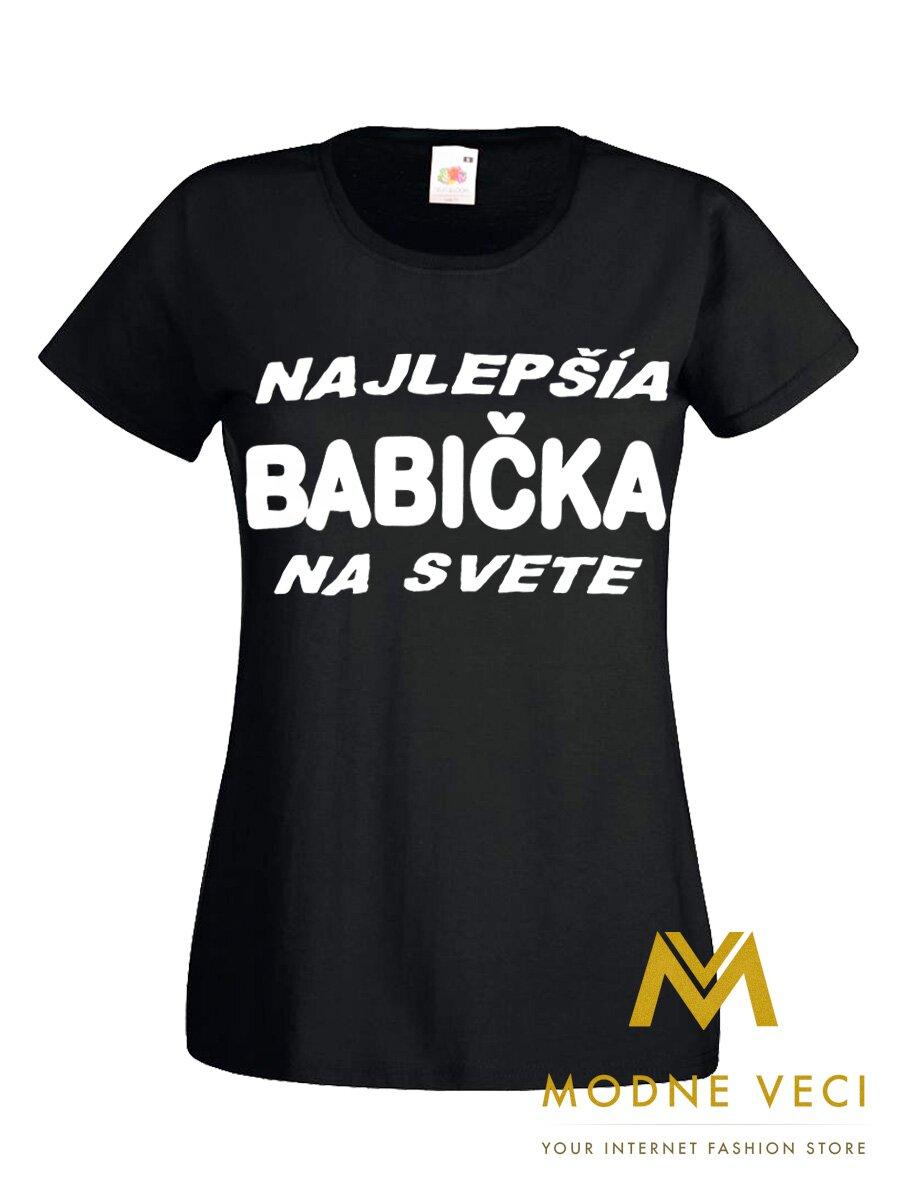 8fee820b53ff Dámske tričko Najlepšia babička