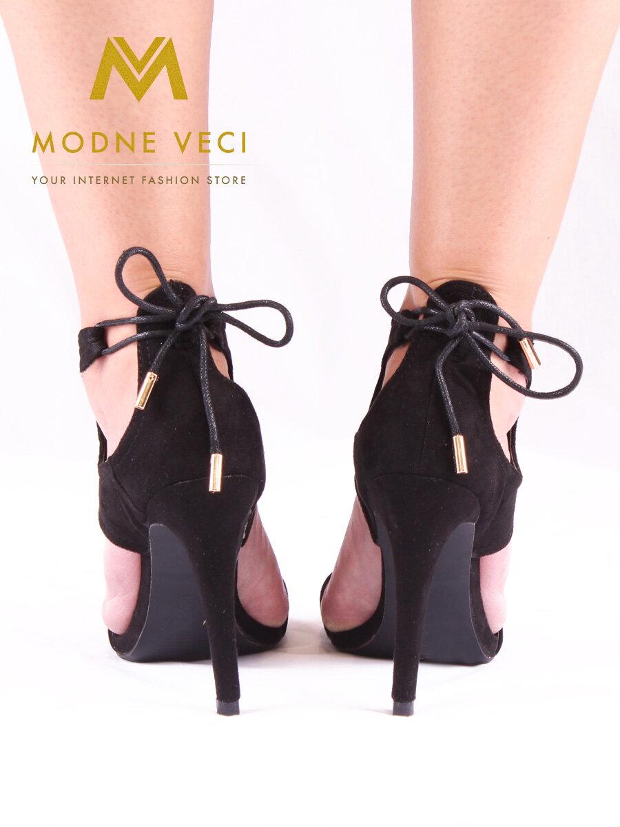 39b69baf8215f Luxusné dámske sandálky - 1012-1 - čierne   Modneveci.sk