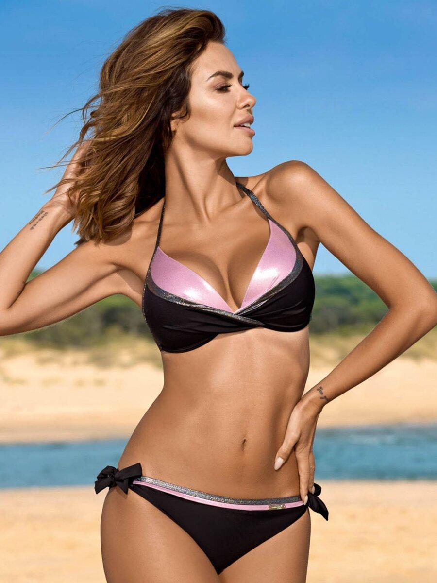 43d5fe36d Nádherné dámske plavky 8 Anabel GB 01 C/52 čierna+ružová | ModneVeci ...