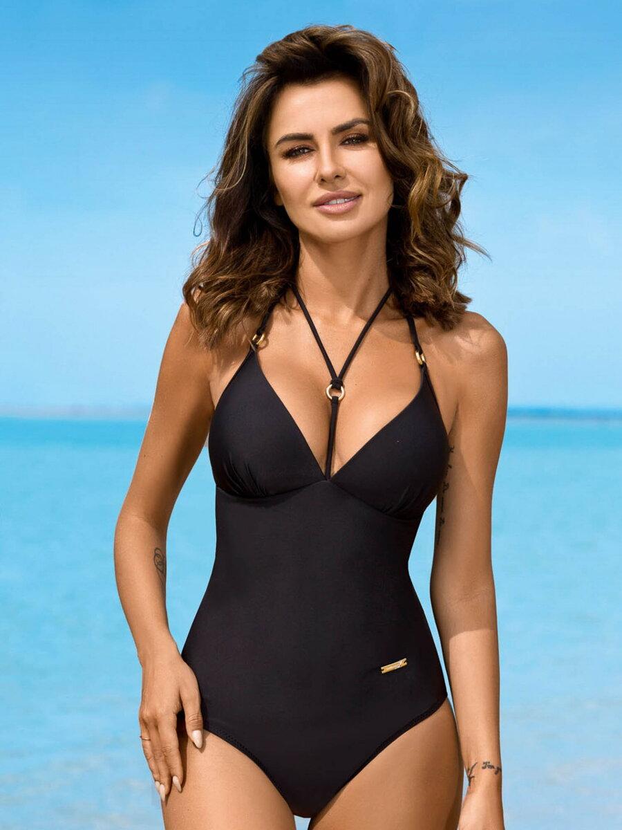 fee10d1a7 Luxusné jednodielne plavky 253 LARA-G H čierna | ModneVeci.sk