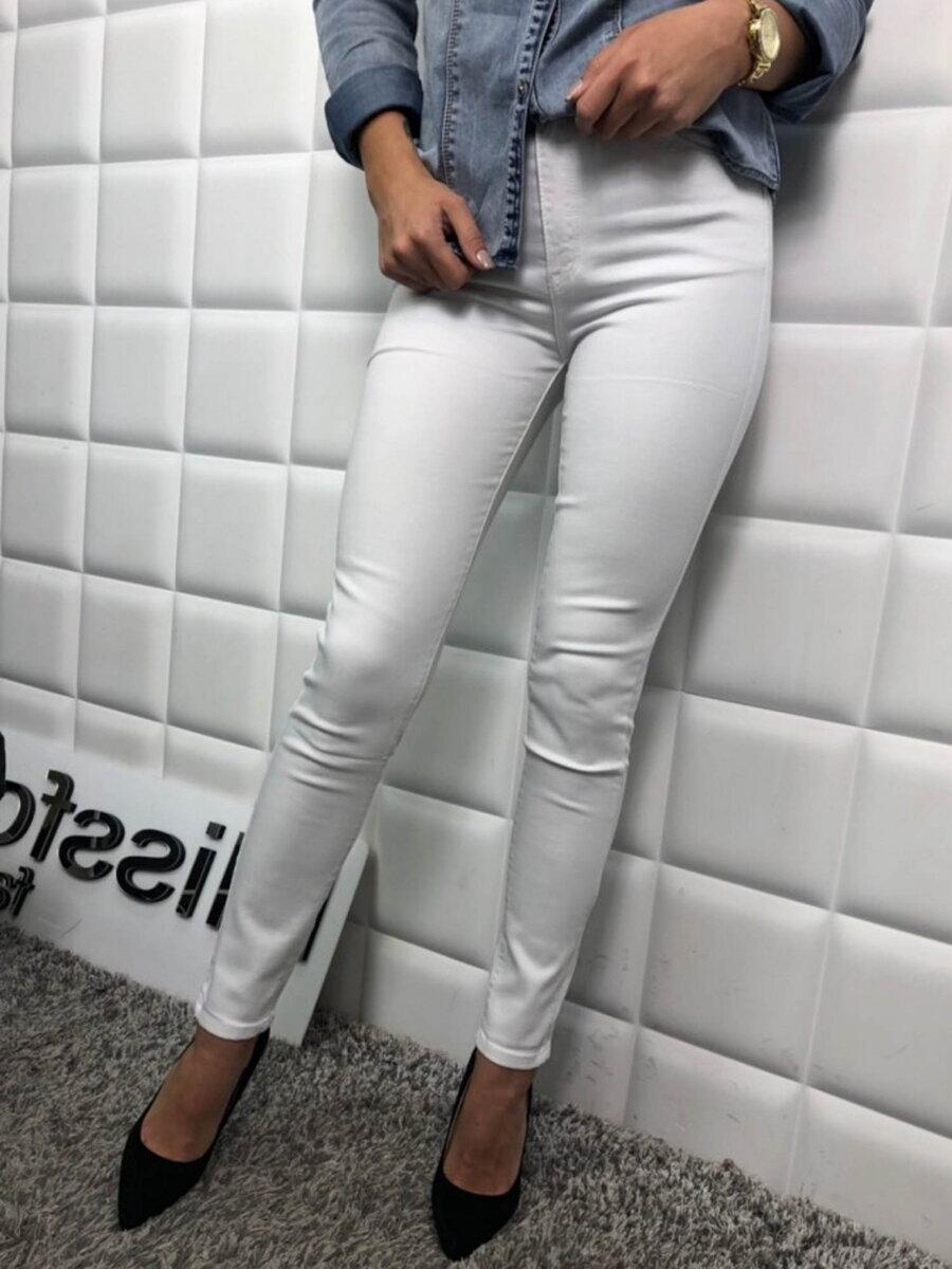 348671fe8e Dámske snehovo biele nohavice