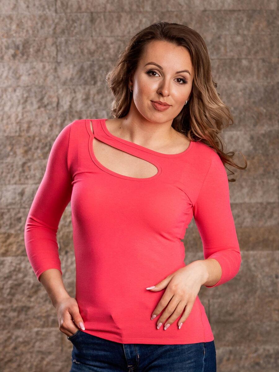 71438658b72b Dámske tričko ILONA ružové VS-DT1907