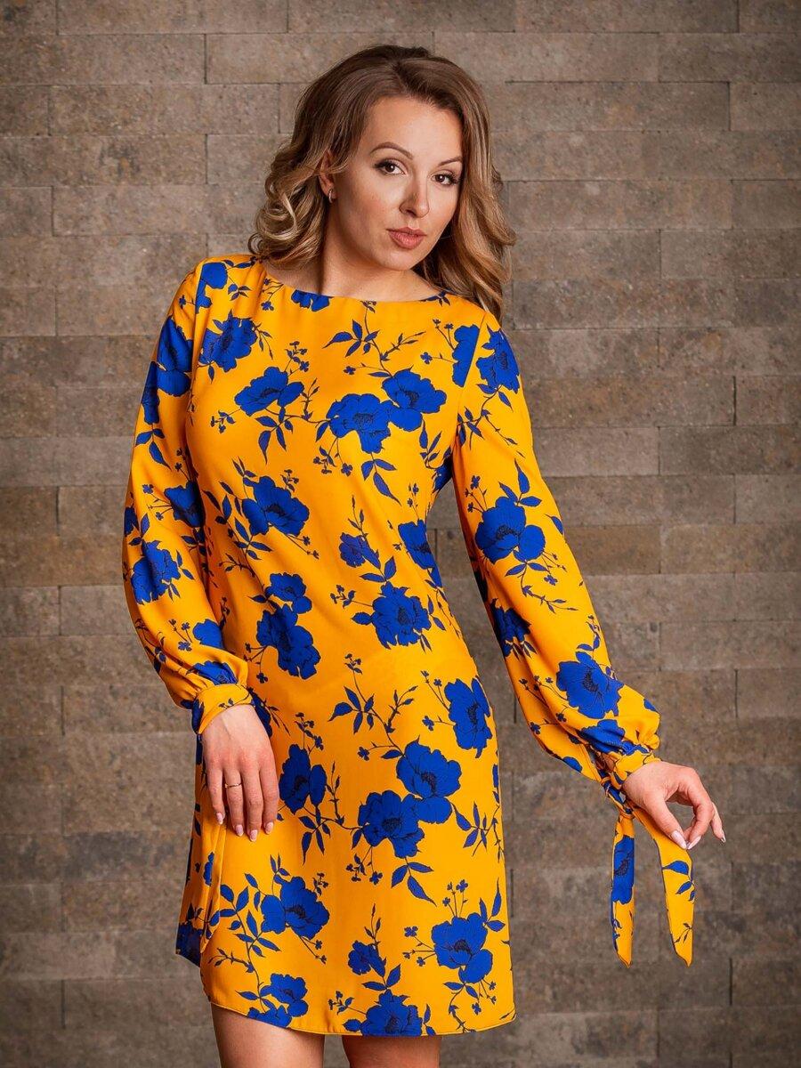 3065a4f51e30 Dámske šaty VS-SA-1912 vzor kvietok