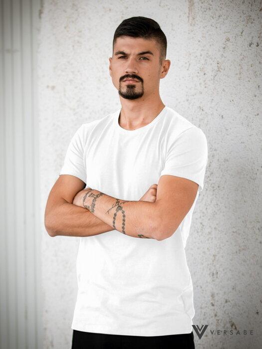 90cb753da9b8 Pánske tričko VERSABE z BIO bavlny 05 biele VS-PT1804