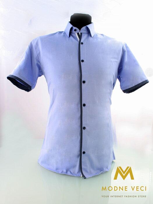 17c4b5a5d35b Luxusná pánska košeľa SLIM FIT STRIH 1523-4