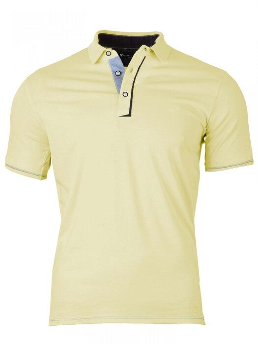 7dcc76060a20 Pánske Polo tričko Versabe žlté VS-PoloM 1902
