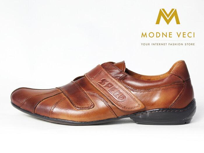 a7fa12301d54 Pánske športové topánky model 97 - hnedé
