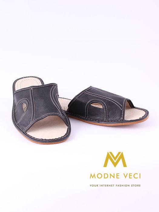 6e144f1cbd53e Pánske kožené papuče Model E   ModneVeci.sk