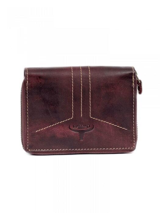 499f99f9f984 Pánska kožená peňaženka BUFFALO WILD N4Z-HP3 tmavohnedá