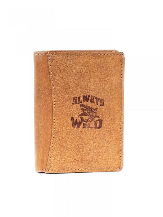 210d74b22c8d Pánska kožená peňaženka ALWAYS WILD N4 CH svetlohnedá