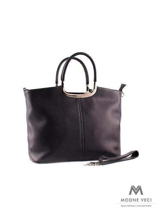 5a232f9dd1a4 Sivá kabelka v z pravej kože S0574