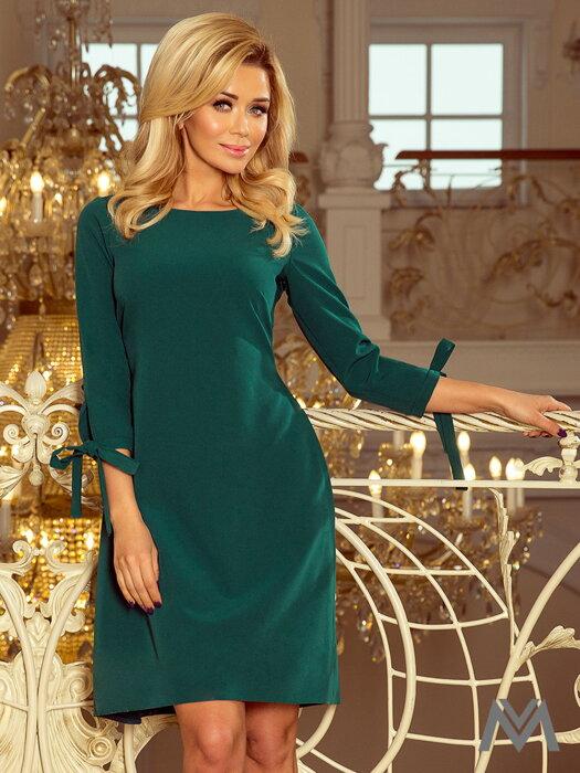 ad1b74aa425d Elegantné dámske šaty Alice 195-6 horčicové