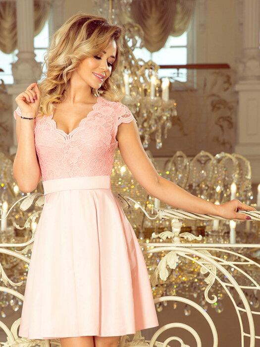a6dcce09f300 Nádherné elegantné dámske šaty 235-1 Kvetinové