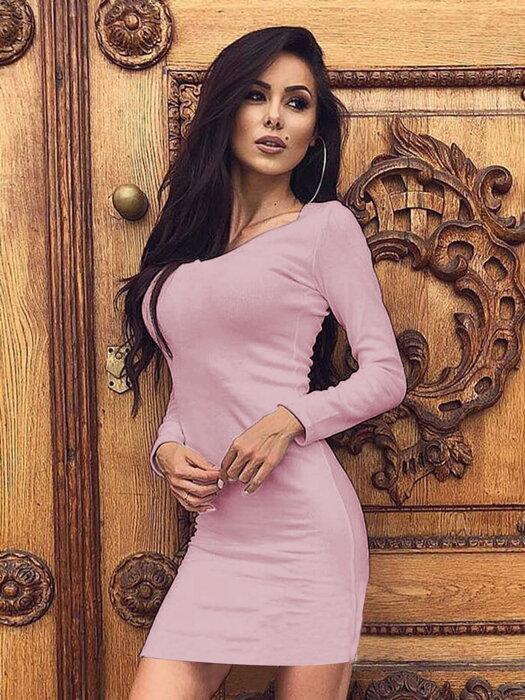 08841ab575a7 Dámske letné šaty HELA VS-SA 1917 pastelovo ružové