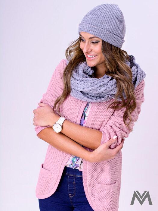 20519b802ec5 Dámsky sveter NESS - staro ružový