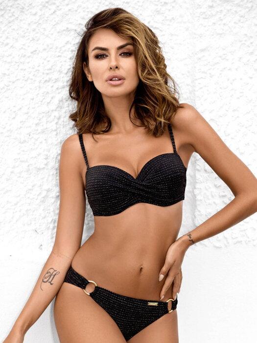 849e06461 Luxusné dvojdielne plavky 156 Evita-D 04/L čierna